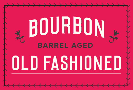 Bourbon Barrel Aged Old Fashioned